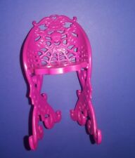 Monster High Doll Furniture Scaris Cafe Pink Chair Seat