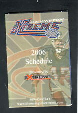 Bloomington Extreme--2006 Pocket Schedule--Brady Homes--UIF
