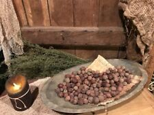 PRiMiTiVE HomeStead Pantry Pitch BeesWax 8 Black Walnuts Bowl Fillers Ornies