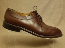 bba96f4b17b88 Mezlan Fiore Men Brown Leather Dress Oxford Lace Up Split Toe Shoes Size 16  M