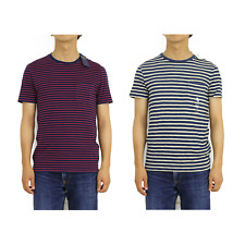 Polo Ralph Lauren Indigo Border Striped T-shirts -- 2 colors