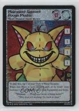 2003 Neopets - Trading Card Game #23 Malevolent Sentient Poogle Plushie 1o8