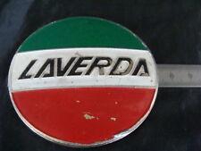 EMBLEMA MOTO LAVERDA PLACCA SERBATOIO 750 OLD BIKE ITALY