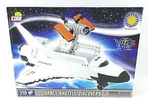 NIB COBI Smithsonian 310pc Space Shuttle Discovery Model Building Kit SEALED BOX