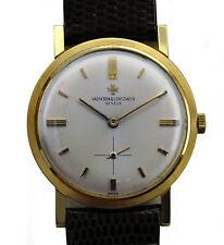 Vintage 50's 18k Yellow Gold Vacheron Constantin Finest Movement Dress Watch