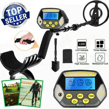 Coocheer Metal Detector Gold Digger Hunter Deep Sensitive Search Coil with Lcd