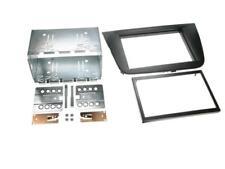 für Seat Leon 1P 1PN Auto Radio Blende Einbau Rahmen Doppel-DIN 2-DIN schwarz