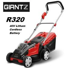 Giantz Lawn Mower Cordless Lawnmower Lithium Battery Powered Electric Garden