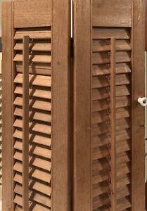 Vintage Wood Shutters