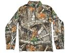 Nomad Transition 1/4 Zip Mens Large Realtree Edge Big Game N12000026 In Stock