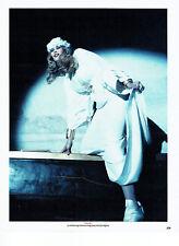 Publicité Advertising 088  1990   Chanel  robe mariée haute couture Cl Schiffer