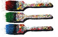 "Mr Brainwash ""WEAPON OF CHOICE"" show Promo print popart banksy paintbrush art"