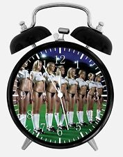 """Sexy Soccer Girls Alarm Desk Clock 3.75"""" Home or Office Decor W355 Nice For Gift"""
