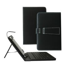 Micro USB Keyboard PU Leather Case Stand Cover for Amazon Fire HD 8 Tablet