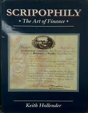 Scripophily The Art of Finance by Hollender Hardcover Bank Bonds