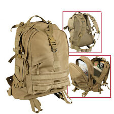 large military style transport pack backpack coyote brown bag rothco 7289