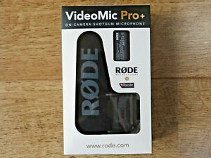 RØDE VideoMic Pro+ (plus) - Compact Directional On-camera Microphone