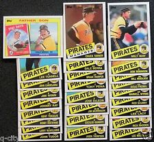 PITTSBURGH PIRATES 1985 Topps 26-Card Team Set from Vendor Boxes _ SMOKE-FREE
