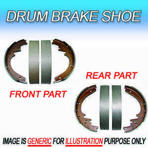 DS Fits Buick Drum Brake Shoe 2 Sets (1 Front and 1 Rear set) ISO Certified