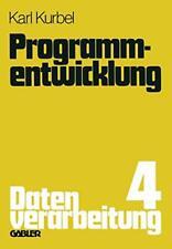 Programmentwicklung : Datenverarbeitung. Kurbel, Karl 9783322961235 New.#*=