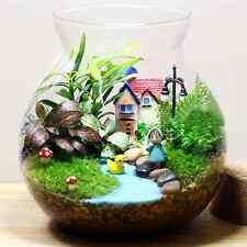 Lot 20pcs Mini Mushroom for Plant Tree Pot Fairy Decoration DIY Garden Dollhouse