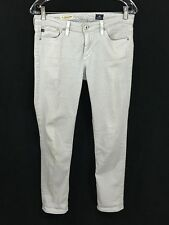 AG Adriano Goldschmied 27 Jeans The Stevie Ankle Dots Slim Straight Leg Womens