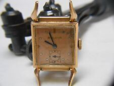 BULOVA  MANS WATCH  1940's Vintage Watch 17 Jwls 14KT GOLD FILLED CASE