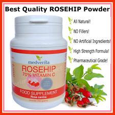 ROSEHIP (Rosa canina) Natural Source Vitamin C Cold & Flu Immune System Boost