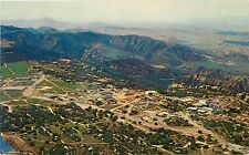 Chrome Postcard Ca I349 Nuclear Field Laboratory Santa Susana Mts Atomic Energy