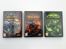 World of WarCraft Game Collection Set Lot Legion WarLords Draenor Mists Pandaria