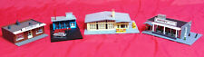 N Scale - 4 Buildings pre-built from Factory, No Boxes - LOT # 44
