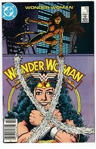 WONDER WOMAN #9 ORIGIN NEW CHEETAH PEREZ DC COMICS 1987 VF