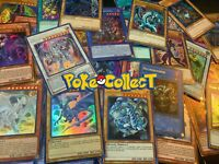 YuGiOh! 5 Card Lot - Secret Rare Only Pack! Possible Blue-Eyes, Dark Magician!
