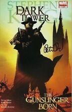 signed DARK TOWER the gunslinger born 1 PETER DAVID stephen king 1st print COMIC