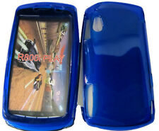 TPU Rubber Gel Case Protector Cover BLUE For Sony Ericsson Xperia Play Z1i R800i