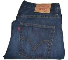Mens LEVI'S 507 Blue (0099) Bootcut Denim Jeans W34 L32