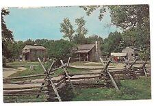 Hill-McNamar Store Conestoga Lincoln's New Salem State Park Illinois Postcard