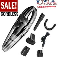 Cordless Vacuum Cleaner 120W High Power Rechargeable Wet & Dry Portable Car Home