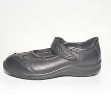 7ae413a2d499 ECCO Girls Imagine Black Leather School Shoes UK 8 EU 26 US 9.5