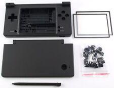 Nintendo DSi NDSi Full Replacement Housing Shell Case Screen Lens Black NEW!