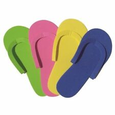 fa9b775c5d71 12 X PAIRS DISPOSABLE PEDI SLIPPERS pedicure spa spray tan flip flops