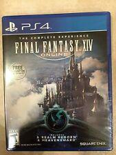 Final Fantasy XIV Online: A Realm Reborn & Heavensward Sony PlayStation 4 NEW