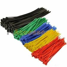 "50 Pcs Black 8"" inch (3x200mm) + 200 Pcs Color 4"" inch (3x100mm) Cable ZIP Ties"