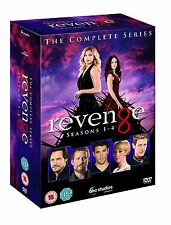 REVENGE COMPLETE SERIES SEASON 1 2 3 4 BOXSET 24 DISCS NEW & SEALED REGION 4