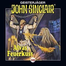 John Sinclair 123 Alvas Feuerkuss von Jason Dark (27.07.2018, CD)