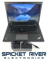 """Lenovo ThinkPad T450S 14"""" i5-5300U 2.30GHz 500GB HDD 8GB RAM - READ #50706"""