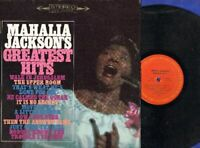 Mahalia Jackson's Greatest Hits Vinyl LP Record Free Shipping