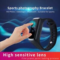 Mini HD 1080P Bluetooth Smart Watch Wristband Camera Spy Hidden Video Recorder