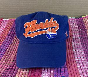 Vintage University of Florida Baseball Cap Hat by Zephyr Adjustable EUC