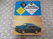 REVUE TECHNIQUE BMW SERIE 5 (E 28) 520i et 524 TD
